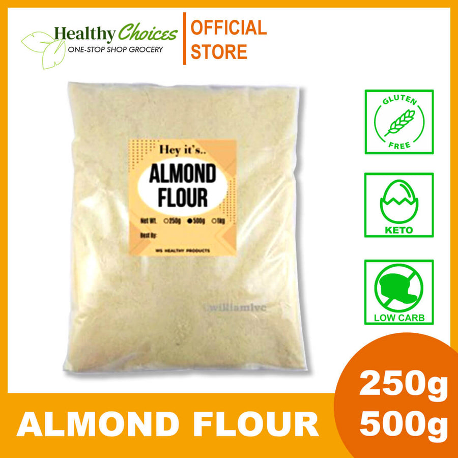 Organic Almond Flour - Keto and Low Carb approved - Healthy Choices PH by Casa Kusina