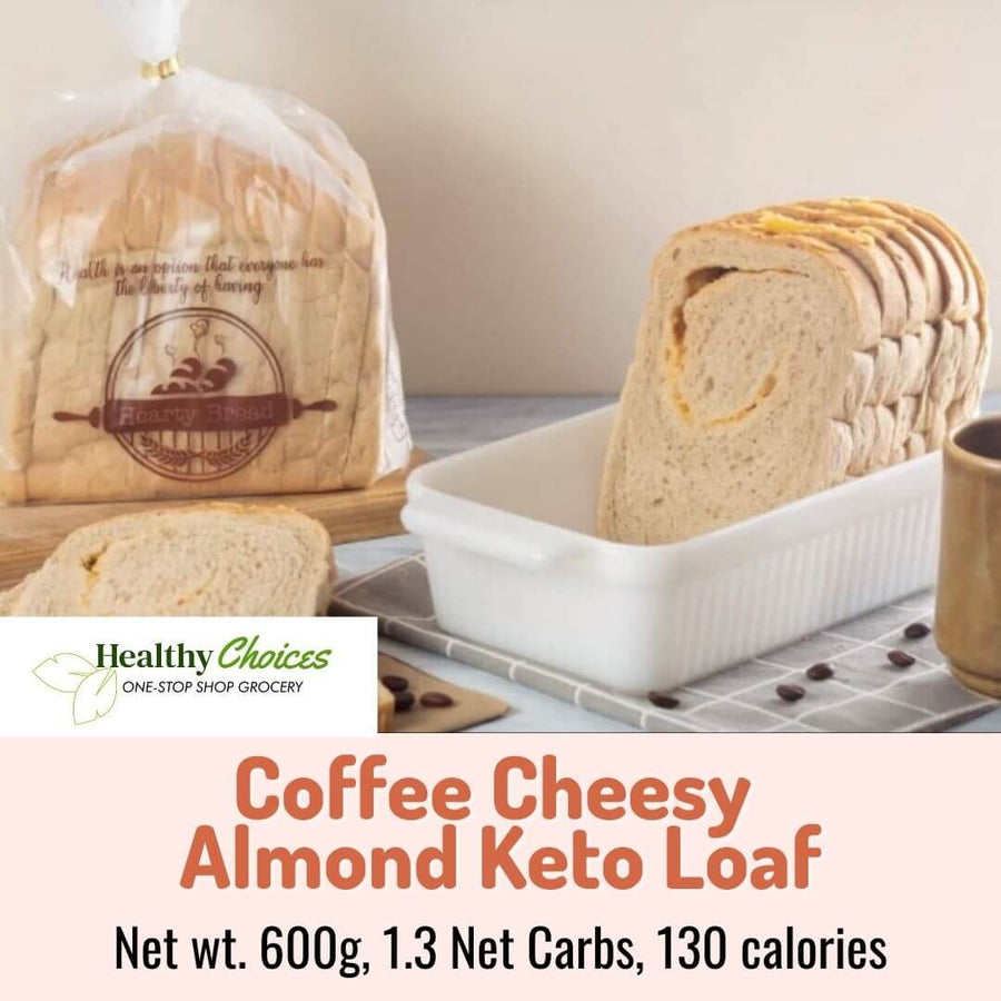 Keto Coffee Cheesy Almond Bread - 600g (metro manila same day delivery) - Healthy Choices PH by Casa Kusina