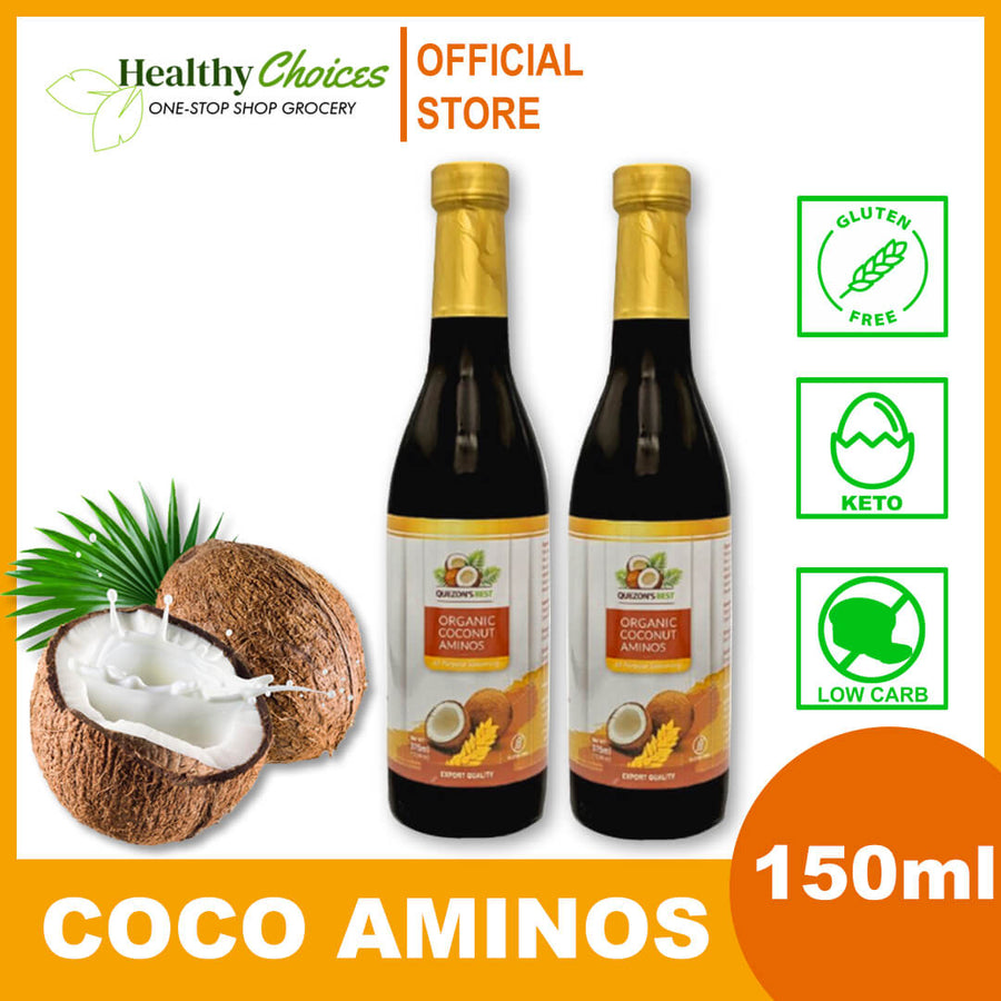 Coconut Coco Aminos (soy sauce/toyo substitute) for keto and low carb - Healthy Choices PH by Casa Kusina