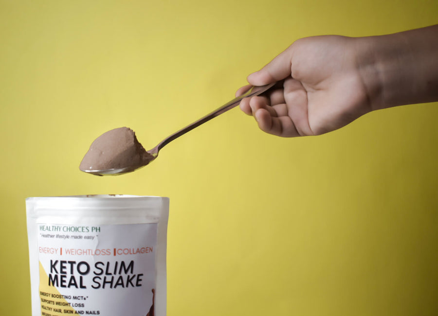 Keto Slim Meal shake - Low carb meal replacement with COLLAGEN! 150g - Healthy Choices PH by Casa Kusina
