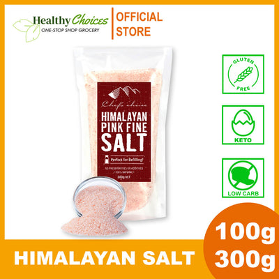 Premium Fine Pink Himalayan Salt - 100g and 300g - Healthy Choices PH by Casa Kusina