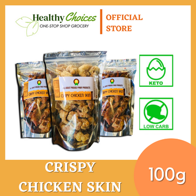 Crispy Chicken Skin (PACK OF 3) 100g SOLD OUT - Healthy Choices PH by Casa Kusina