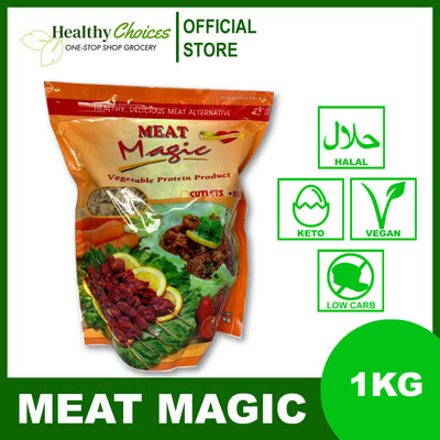 Vegan Meat Cutlets (Halal, FDA Approved) 1kg - Healthy Choices PH by Casa Kusina