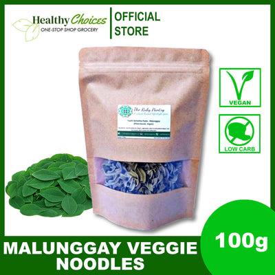 Malunggay Veggie Noodles - 100g (Vegan, Diabetic Friendly) - Healthy Choices PH by Casa Kusina