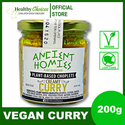 Vegan Curry - Ready to Eat Ulam 200g - Healthy Choices PH by Casa Kusina