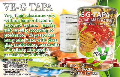 Vegan Tapa (Halal, FDA Approved) 350g - Healthy Choices PH by Casa Kusina