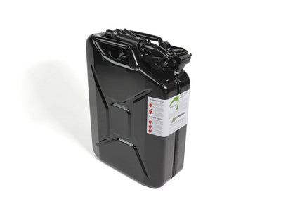 20l Black Jerry Can w/ Spout and Adapter