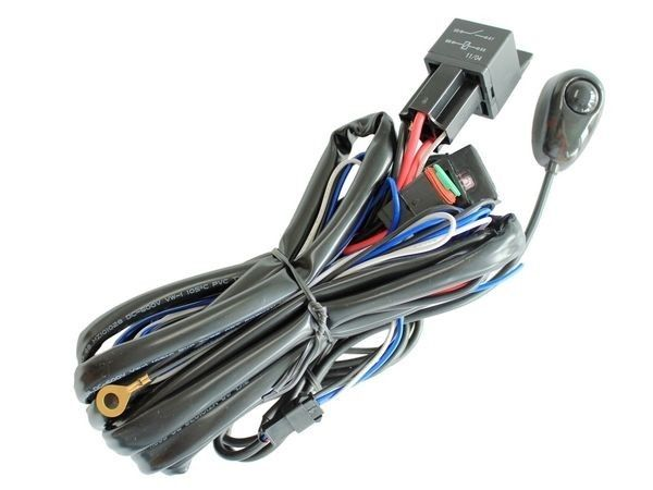 Double LED Wiring Harness