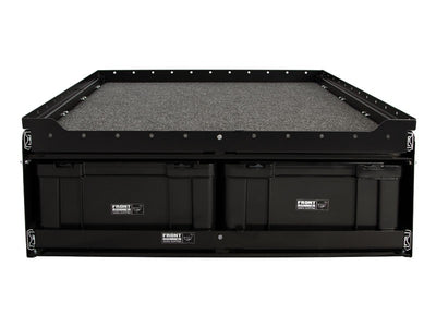 6 Cub Box Drawer w/ Cargo Sliding Top