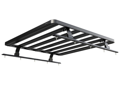 Pickup Roll Top with No OEM Track Slimline II Load Bed Rack Kit / 1425(W) x 1358(L) - by Front Runne