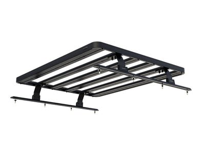 Pickup Roll Top with No OEM Track Slimline II Load Bed Rack Kit / 1425(W) x 1156(L) - by Front Runne
