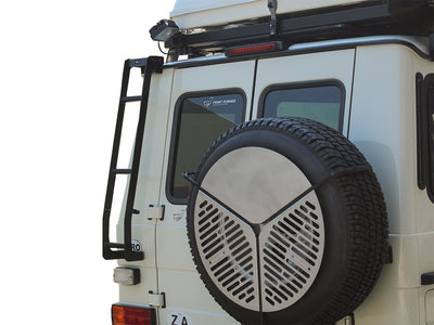 Mercedes Gelandewagen G Class Ladder  by Front Runner