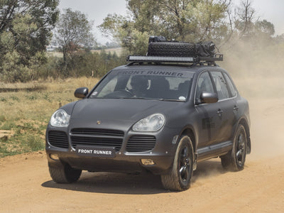Porsche Cayenne (2002 - 2010) Slimline II Grab-On Roof Rack Kit