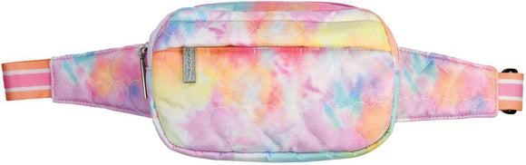 Iscream COTTON CANDY HEART QUILTED LARGE COSMETIC BAG