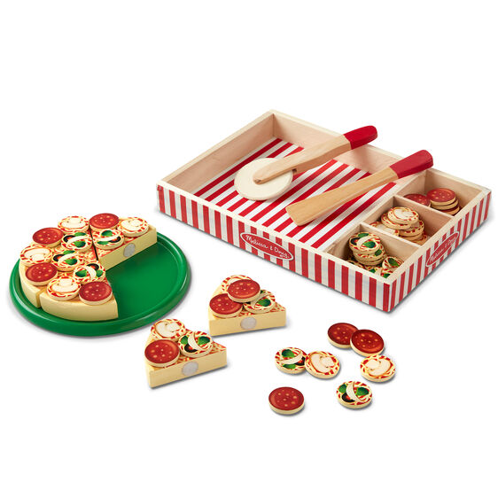 Pizza Party - Wooden Play Food for kids