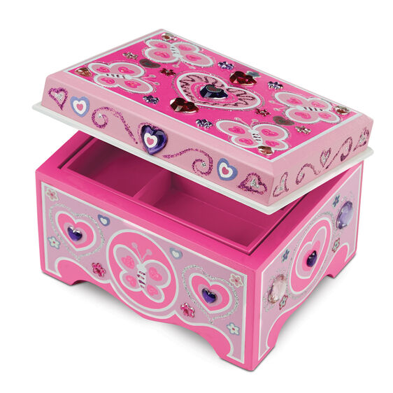 Melissa & DougⓇ Created by Me! Jewelry Box Wooden Craft Kit