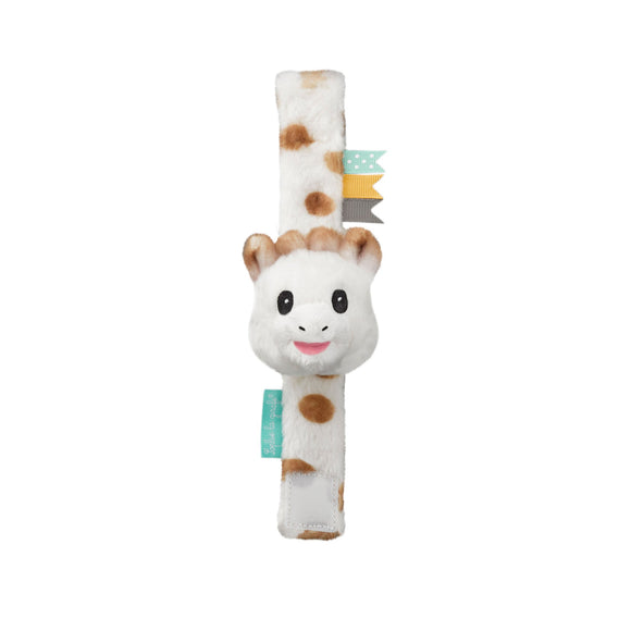 Sophie the Giraffe Strap Rattle