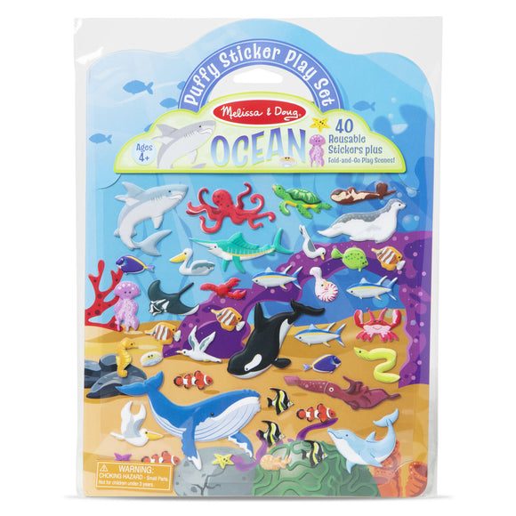 Melissa & Doug Puffy Sticker Play Set- Ocean