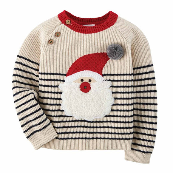 Mud Pie Santa Sweater