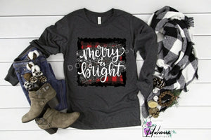 Merry & Bright Mommy and Me Long Sleeve Shirt