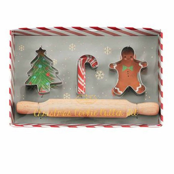 Mud Pie Christmas Cookie Cutter Set