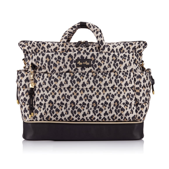 Itzy Ritzy NEW Dream Weekender™ Leopard Diaper Bag