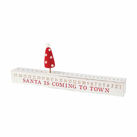 Christmas Countdown Stick