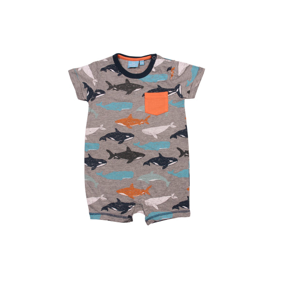 Bear Camp Clayton Whale Romper