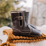 Chocolate Brown Riding Boot