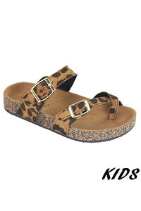 Girls Leopard Sandal Sizes 9-4