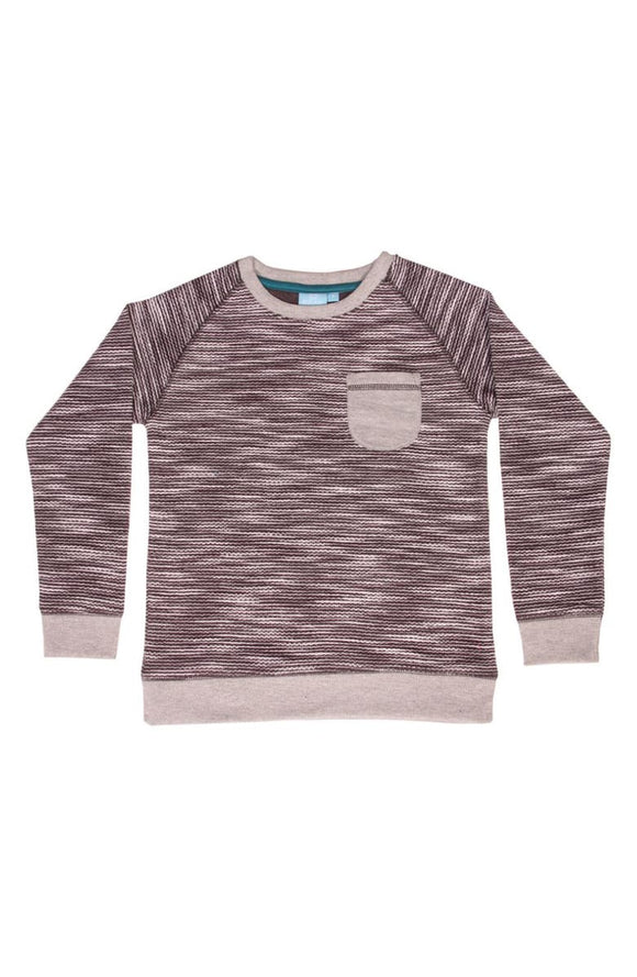 Bear Camp Reverse Knit Pullover