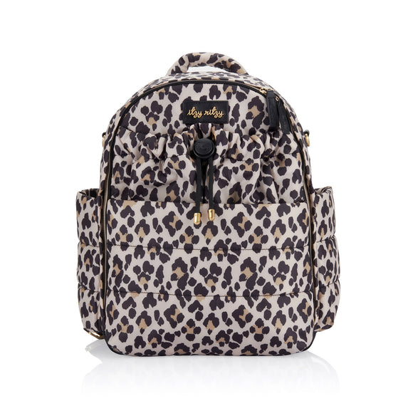 Itzy Ritzy NEW Dream Backpack™ Leopard Diaper Bag