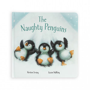 JellycatⓇ The Naughty Penguins Book