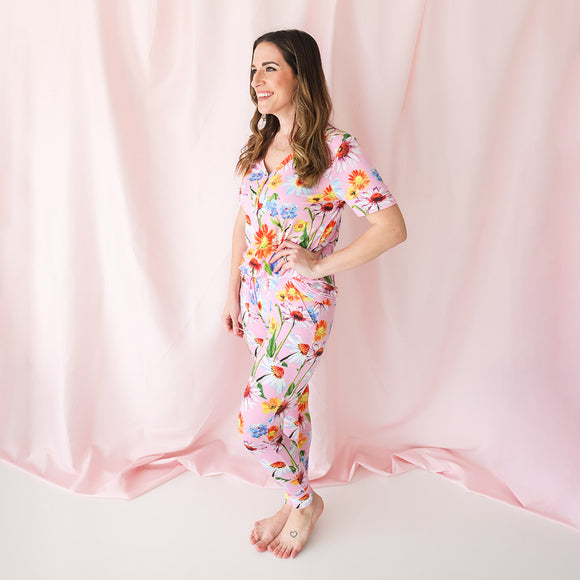 Posh Peanut - Kaileigh - Women's Short Sleeve Pajamas