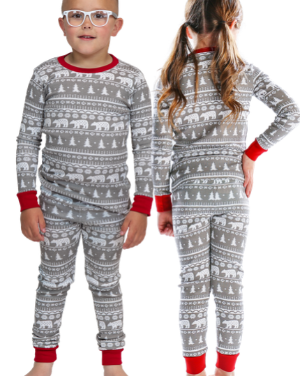 Lazy One Nordic Bear Kid Set