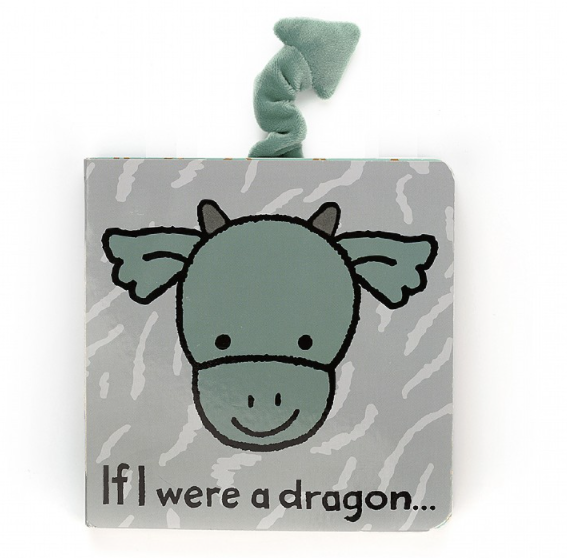 JellycatⓇ If I Were a Dragon Book