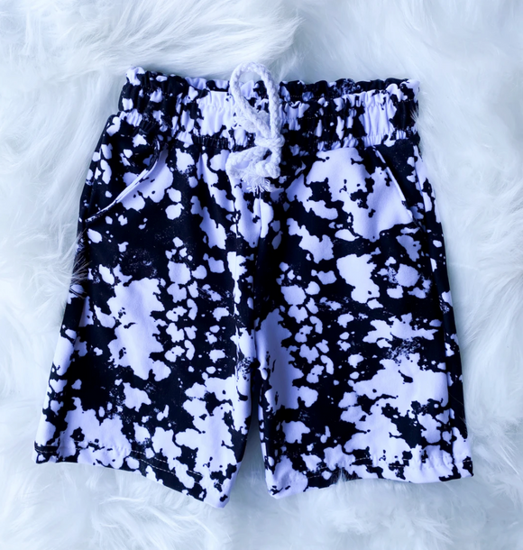 Monochrome Boy Shorts