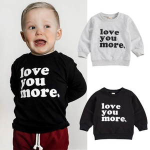 Love You More Pullover - Black