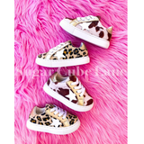 Toddler Leopard Star Sneakers