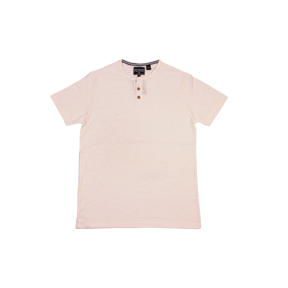 Bear Camp Jasper Slub Henley Tee - Cream