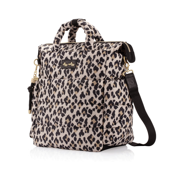 Itzy Ritzy NEW Dream Convertible™ Leopard Diaper Bag