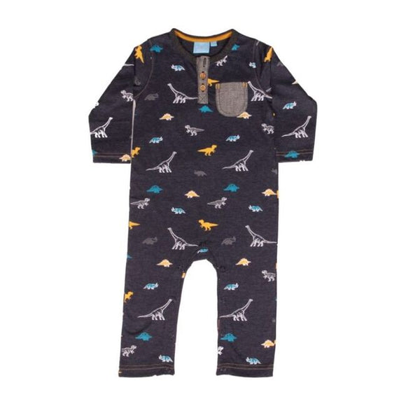 Bear Camp Dino Romper
