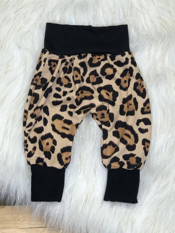 Latte Cheetah Joggers