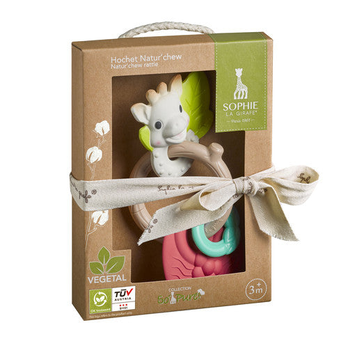 Sophie the Giraffe So'pure Natur'chew Rattle