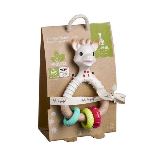 Sophie the Giraffe So'pure Natur'rings