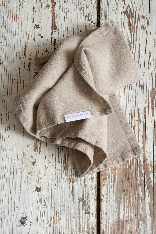 Linen Napkins (set of 2), Natural