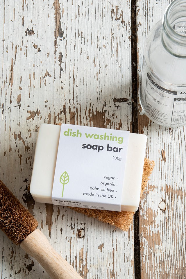 Vegan Washing-Up Soap Bar, 230g