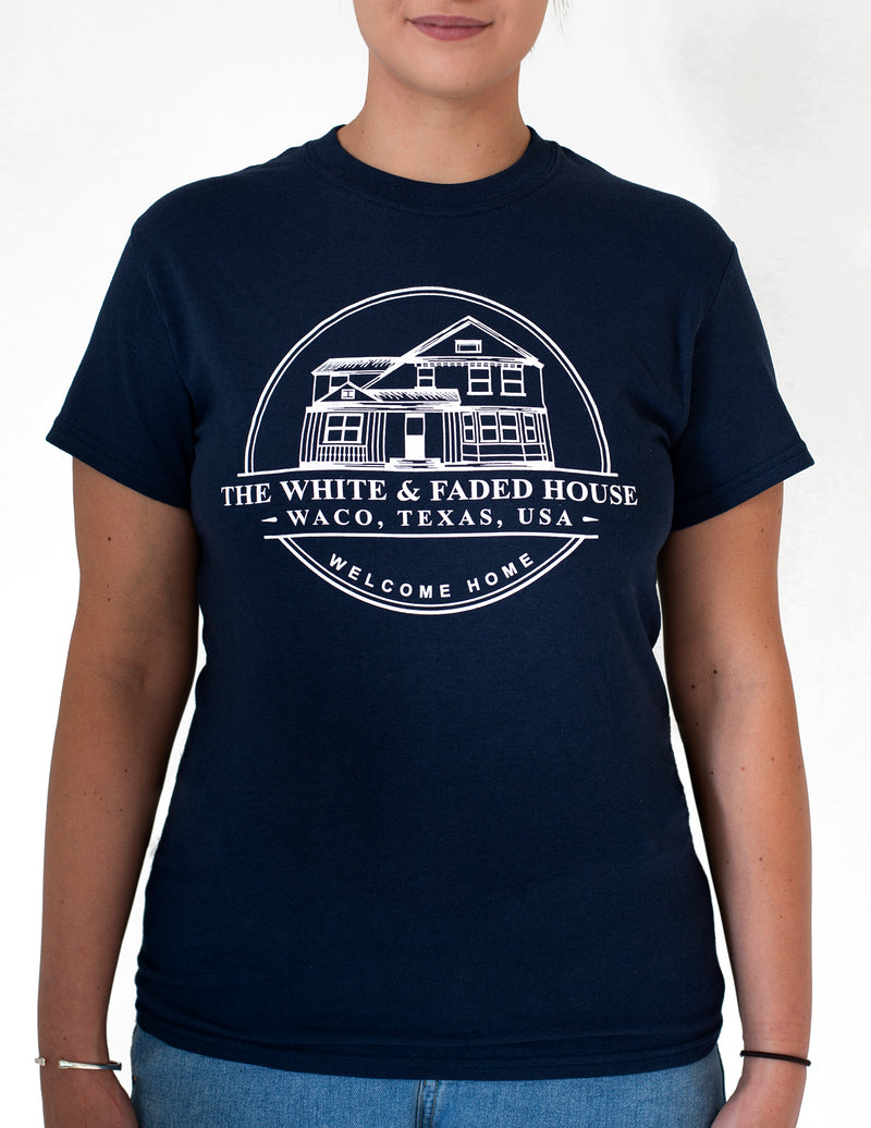 THE WHITE & FADED HOUSE T-Shirt