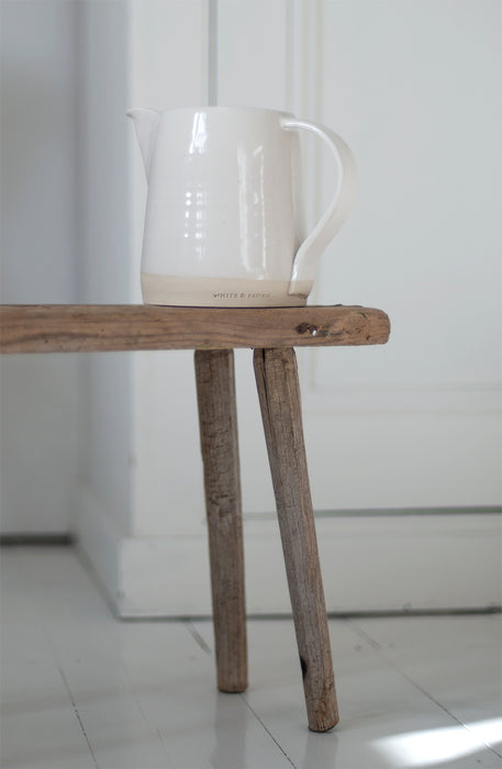 White & Faded Collection Large Jug