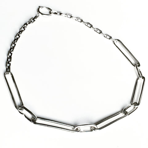 9 links 9 lives Chain - sterling silver